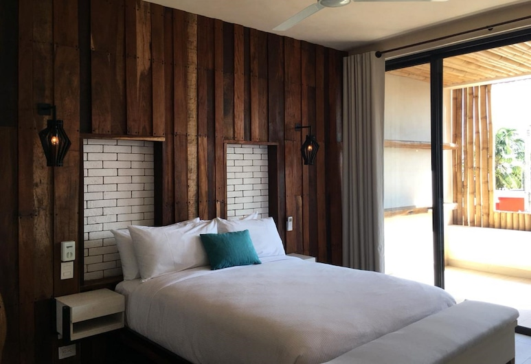 POLO 15, Playa del Carmen, Basic Room, 1 Queen Bed, Non Smoking (Balcony), Guest Room