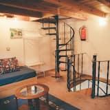 Ház, 1 hálószobával, erkély - Nappali rész