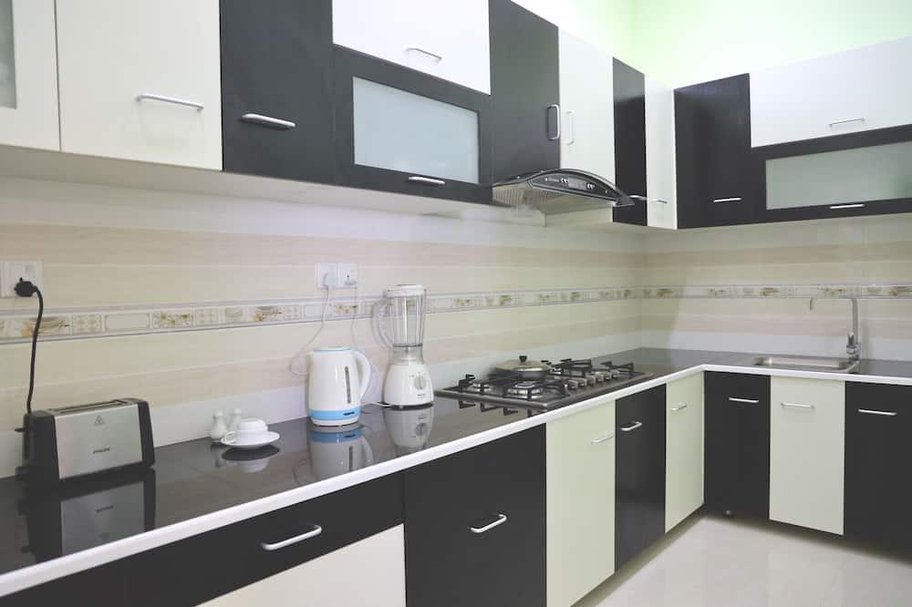 Deluxe-dobbeltværelse - 1 dobbeltseng - Fælles køkken