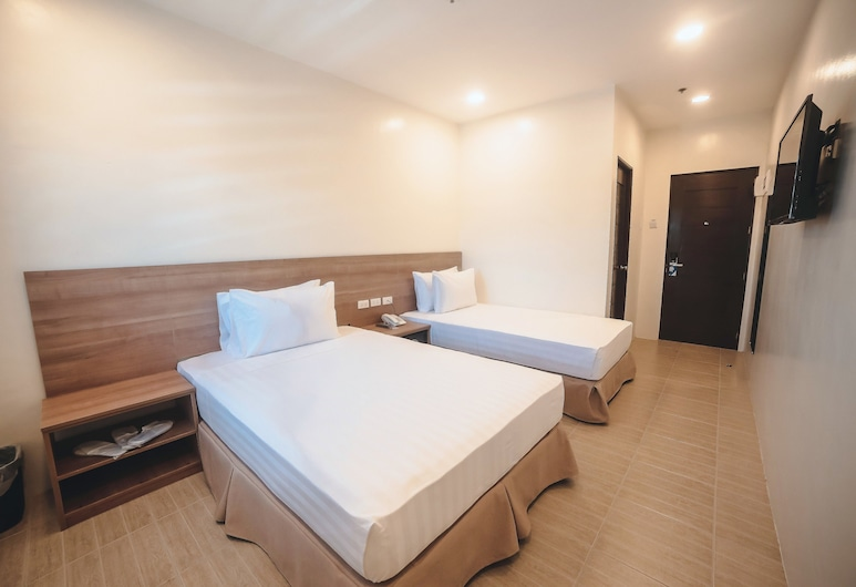 Trip Inn, Legazpi, Kamar Triple Superior, Kamar Tamu