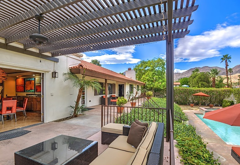 Villa Bel Air Palm Desert, Palm Desert, Balkon