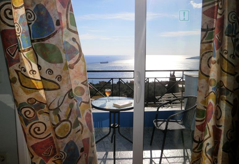 Casa De Blue Studios & Apartments, Kefalonia, Stüdyo, Deniz Manzaralı, Oda manzarası