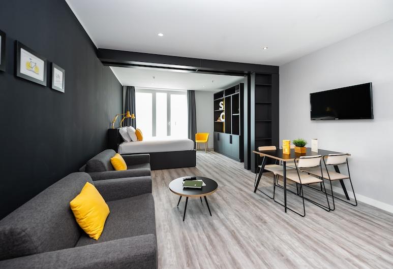 威尼斯梅斯特雷城市小住公寓酒店, 美斯特雷, 公寓, 1 間臥室 (Sleep 4), 客廳