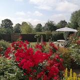Tweepersoonskamer, uitzicht op tuin (Bouton d'Or) - Uitzicht op tuin