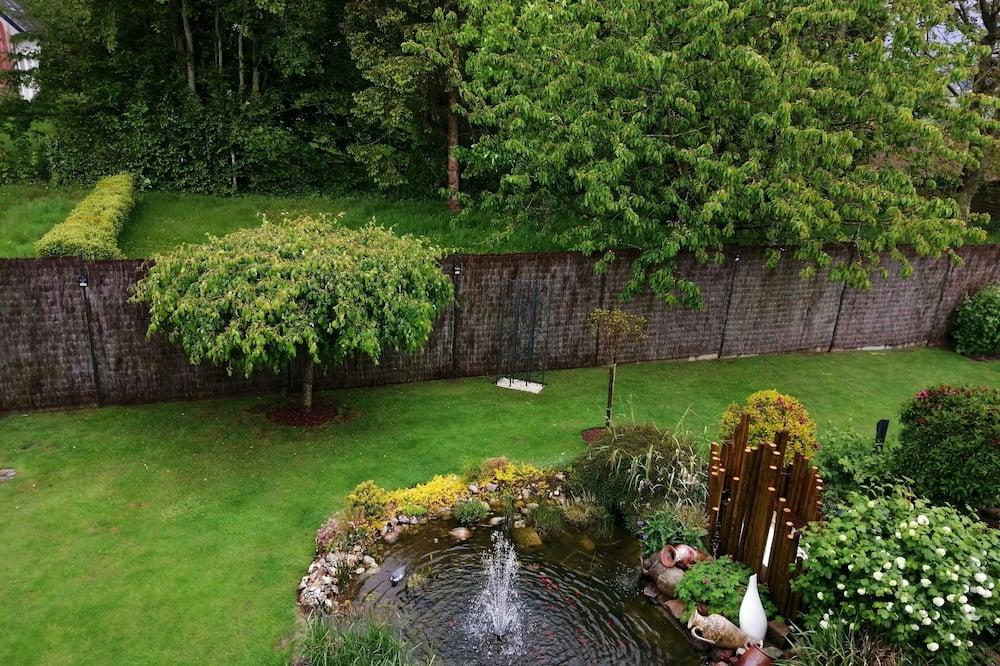 Tweepersoonskamer, uitzicht op tuin (Les Bleuets) - Uitzicht op tuin