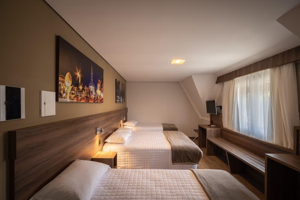 Liukso klasės keturvietis kambarys, Kelios lovos, Nerūkantiesiems - Pagrindinė nuotrauka