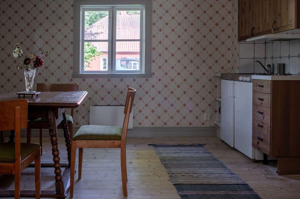 Romantiskt dubbelrum - privat badrum - Delat kök