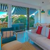 Casa, 3 habitaciones, vista al jardín - Sala de estar