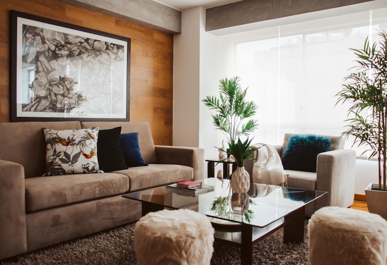 Luxury 2 bedroom apartment in center Miraflores, Lima, Lägenhet - 2 sovrum, Vardagsrum