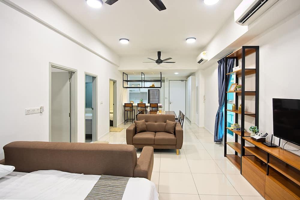อพาร์ทเมนท์, 2 ห้องนอน (#7) - พื้นที่นั่งเล่น