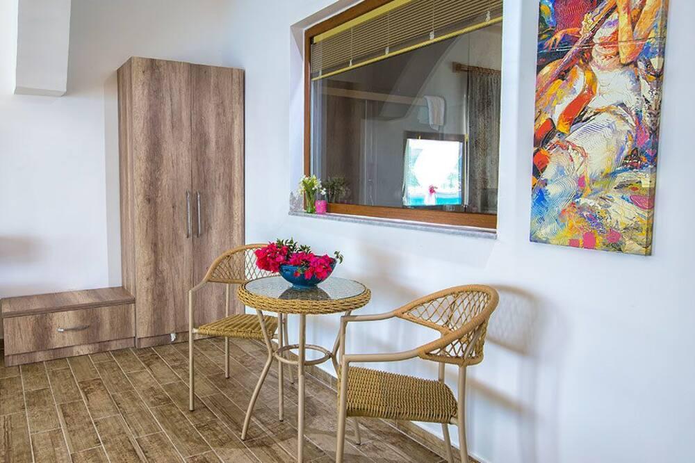 Suite familiare, vista mare - Area soggiorno