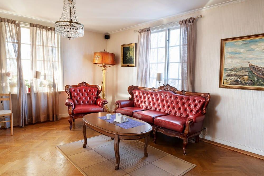 Habitación individual básica, 2 camas individuales - Sala de estar