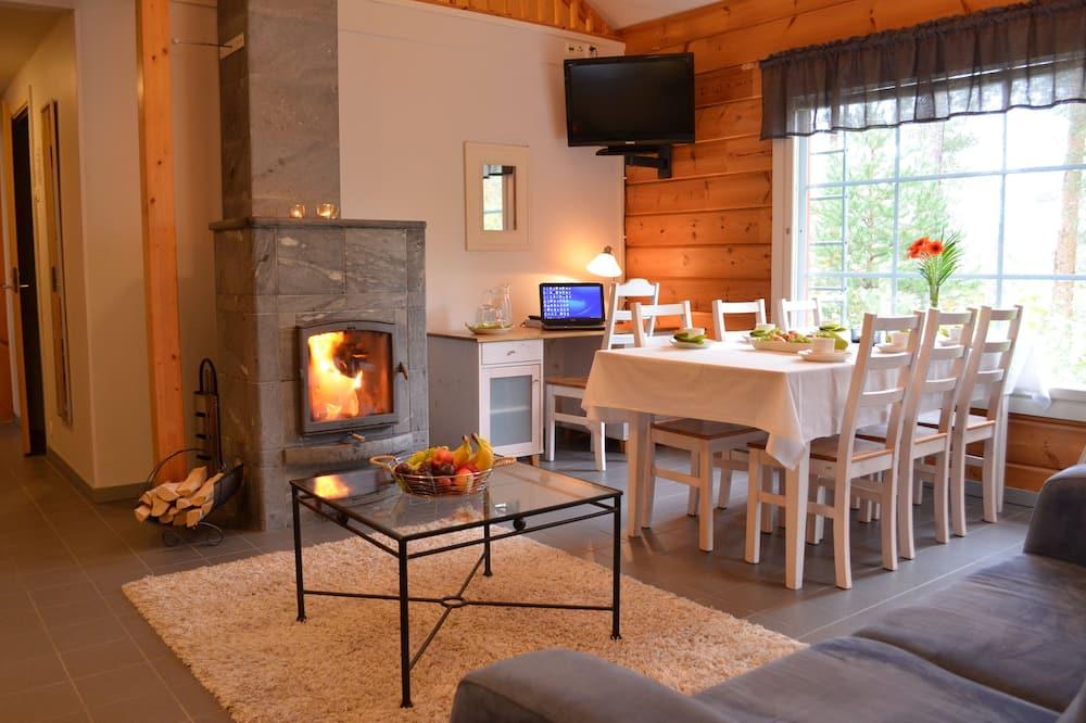 Premium-huvila, Osittainen järvinäköala - Ruokailu omassa huoneessa