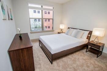 Houston bölgesindeki Houston Uptown Apartments by NUOVO resmi