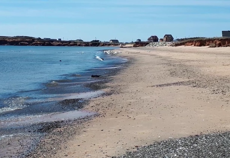 Motel l'Archipel, L'Etang-du-Nord, Pláž