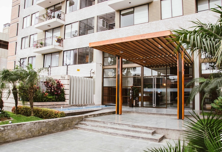 Comfy Apartment in the Heart of Miraflores, Lima, Property entrance