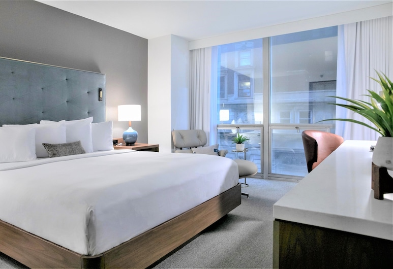 Hotel Essex Chicago, Chicago, City View King Accessible, Gästrum