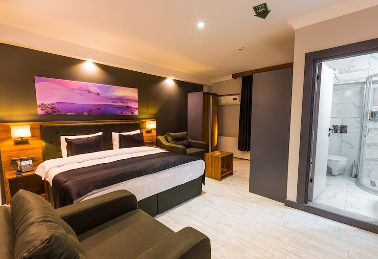 Azra Suite Otel, Trabzon, Family Room, City View, Guest Room