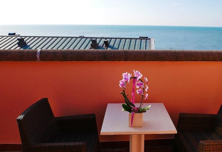 ホテル アンタレス, グラド, ダブルルーム バルコニー シービュー, バルコニーからの眺望