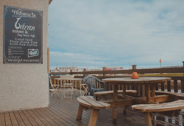Sandur, Langanesbyggð, Terrasse/veranda
