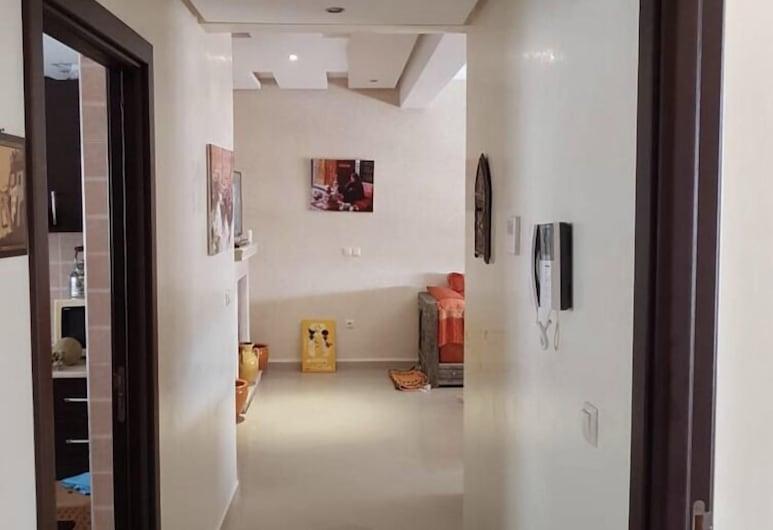 أماني فونتي ريزيدنس أكادير, أكادير, شقة - لغير المدخنين - بمنظر للمحيط, منطقة المعيشة