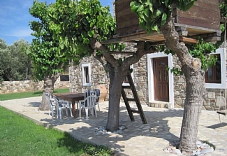 Traditional Greek Stone Cottage, Kos, Property Grounds