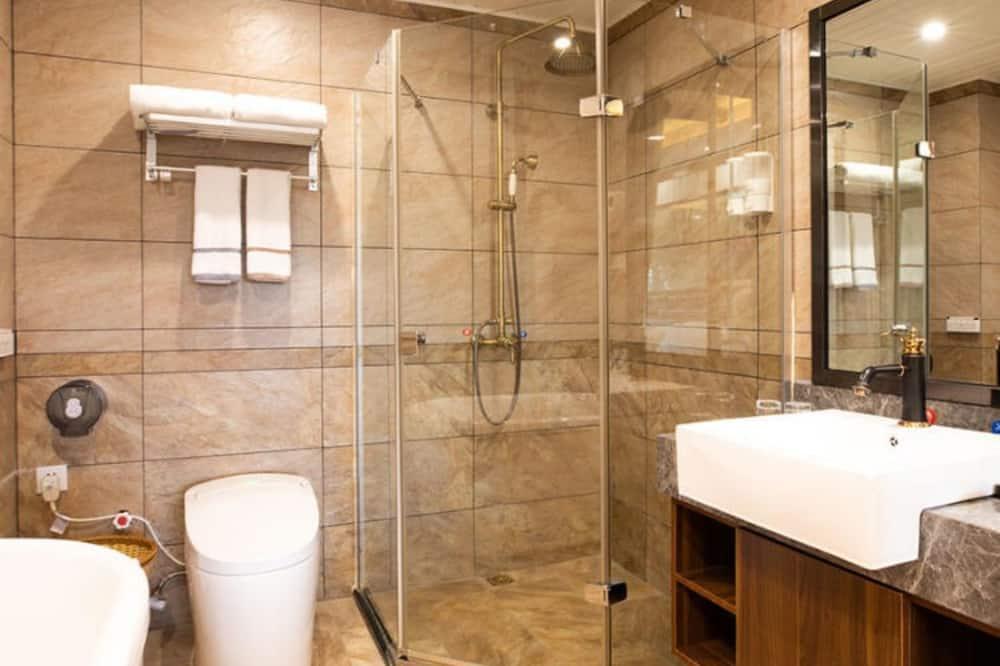 ダブルルーム リバービュー - バスルーム