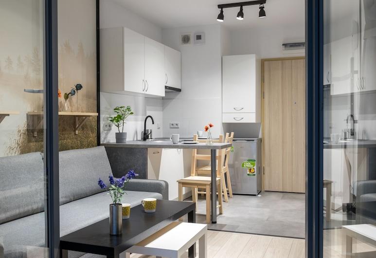 WS Concept House Apartments, Kraków, Apartament typu Economy, Pokój