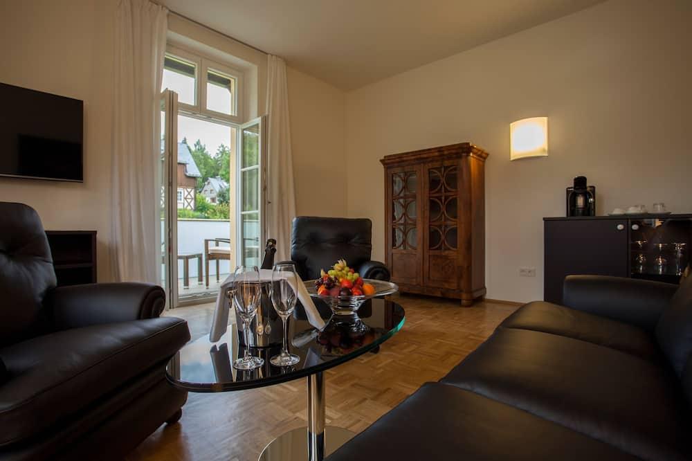 奢華套房, 陽台 (Itterbach) - 客廳