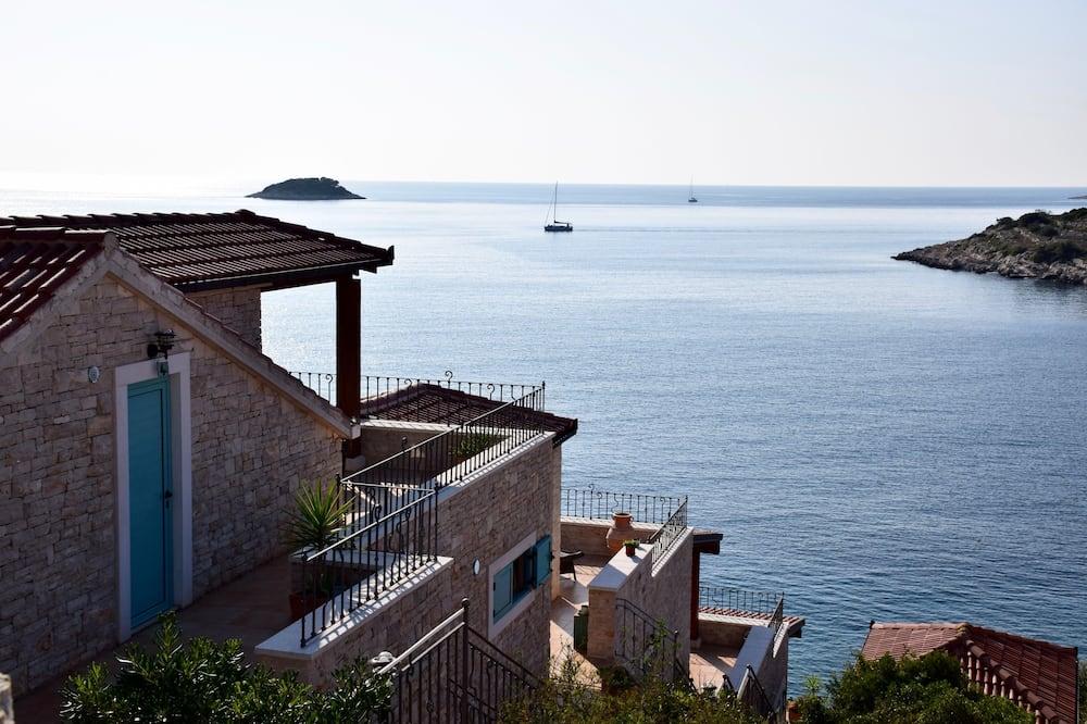 Romantiško stiliaus apartamentai, vaizdas į jūrą - Pagrindinė nuotrauka