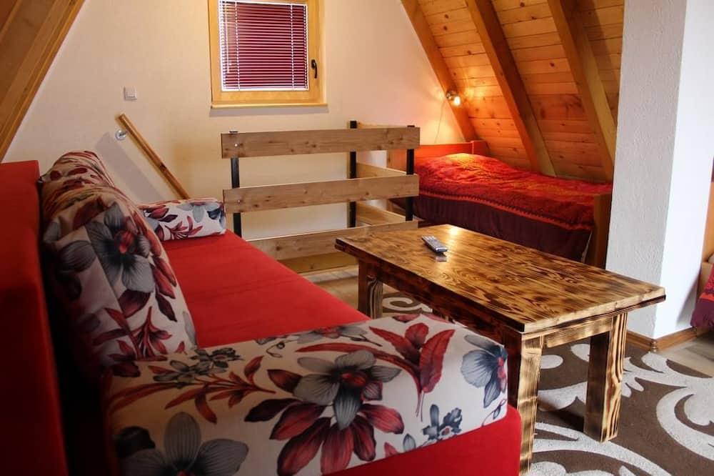 Chalet, Garden View - Living Area