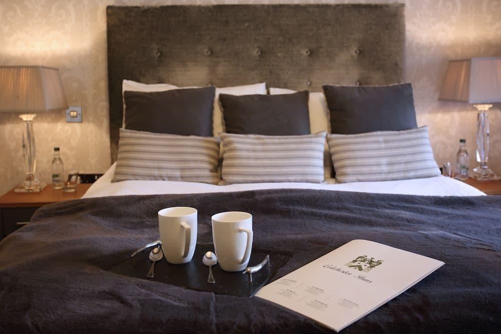 Classic dubbelrum eller tvåbäddsrum - eget badrum - Gästrum
