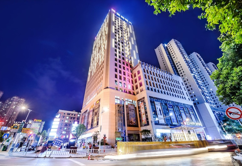 City Comfort Inn Nanning Xinzhu Road, Nanning, Hotel homlokzata - este/éjszaka