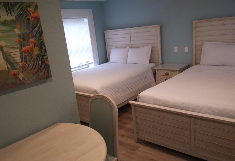 Surf Motel, Pulau Padre Selatan, Basic Room, 2 Katil Ratu (Queen), Bilik Tamu