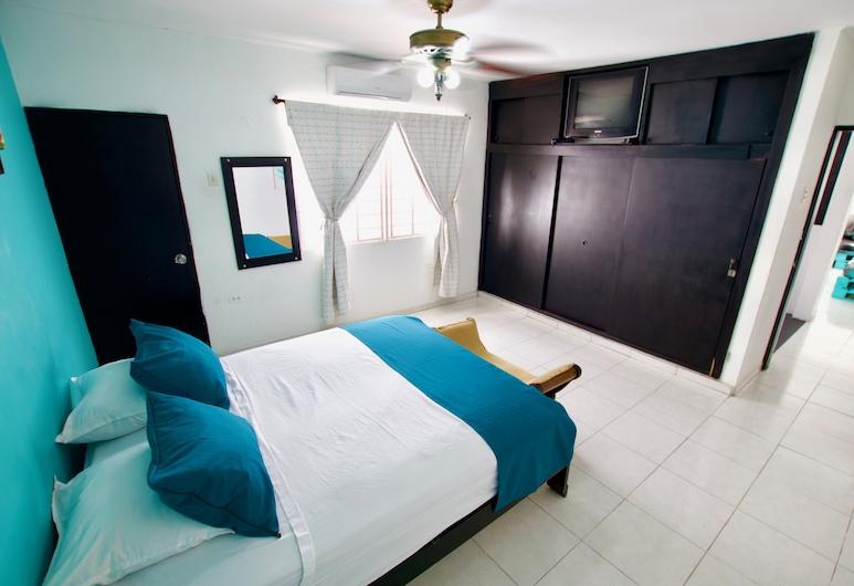QuillaHost Thematic Apartment, Barranquilla, Apartamento de diseño, Varias camas, no fumadores, Habitación