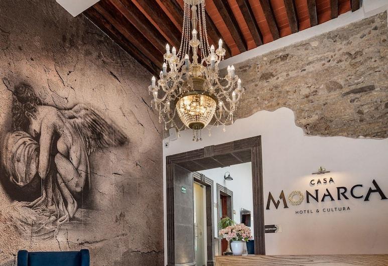 Hotel Casa Monarca, Puebla, Receptie