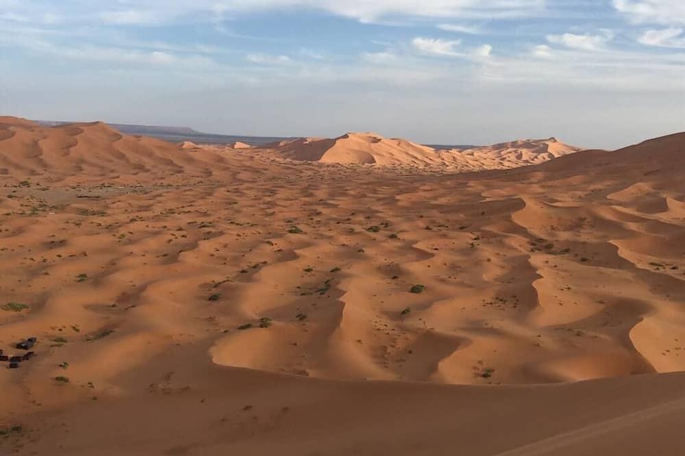 Краєвид на пустелю