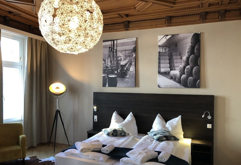 Hotel Brauhof Wien, Viena, Quarto casal ou duplo premium, Acessível, Quarto