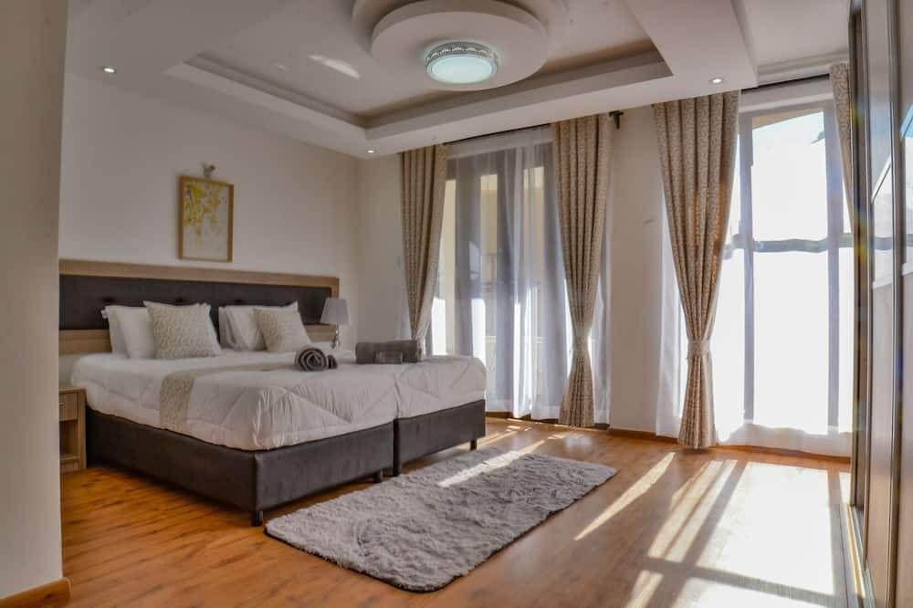 Executive-Zimmer, 1King-Bett, Balkon, Flussblick - Zimmer
