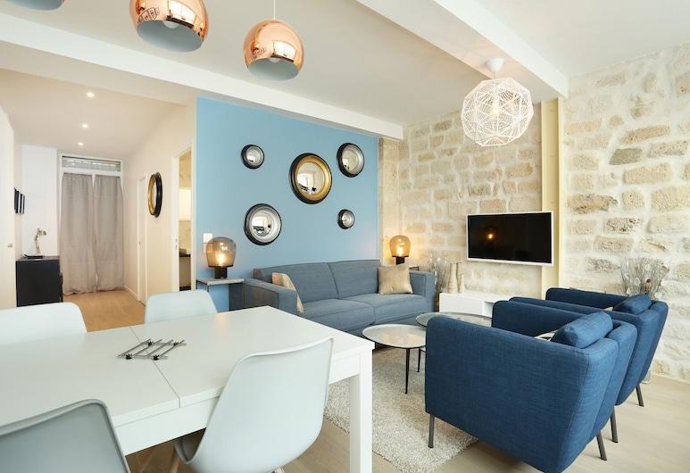 Residence Tour Eiffel Champs de Mars(Exposition 2), Paryż, Apartament podstawowy, Powierzchnia mieszkalna