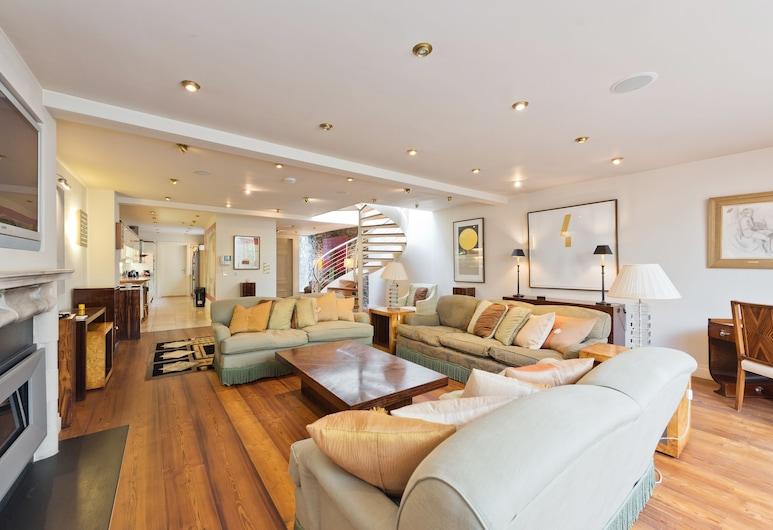 The Brendan Gleeson Suite - hiphipstay, Δουβλίνο, Καθιστικό