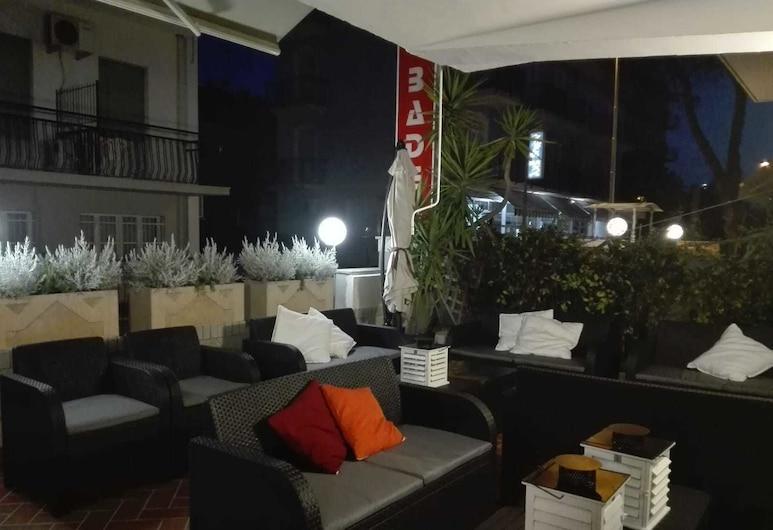 Hotel Baden Baden, Rimini, Zahrada