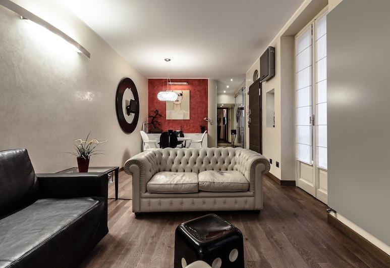 Suitelowcost Corso Venezia, Milan, Apartment, 1 Bedroom, Living Area