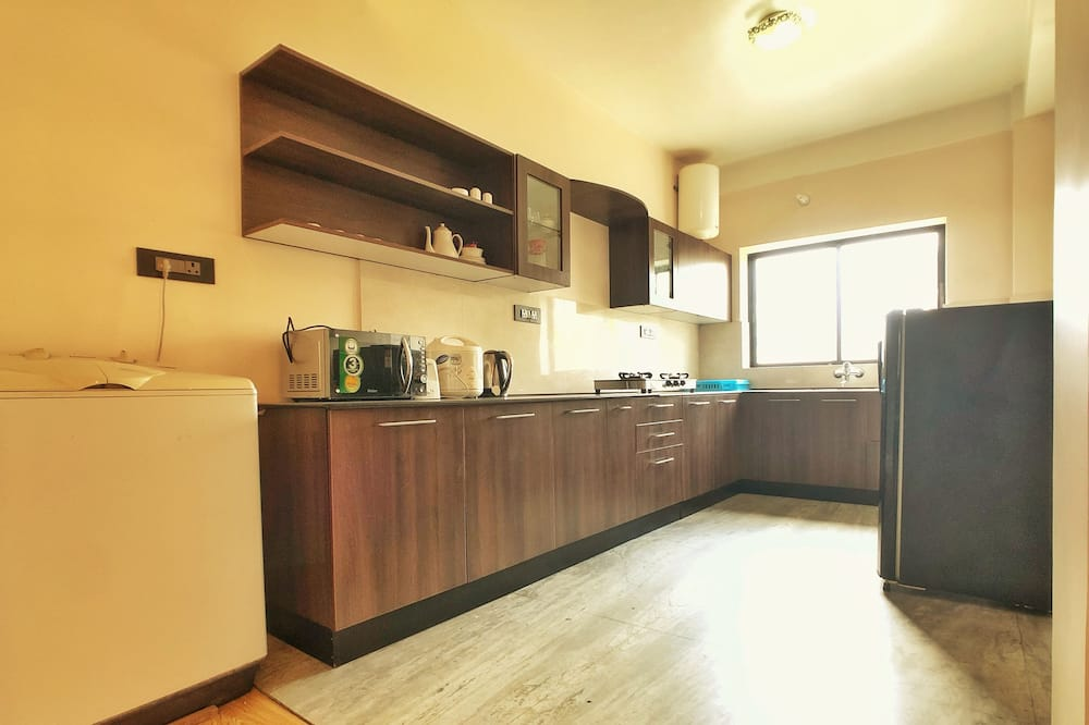 Deluxe-Apartment, Mehrere Betten, Nichtraucher - Gemeinschaftsküche