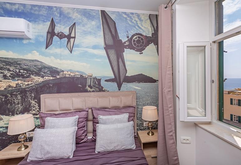 Seven Stars Accommodation Dubrovnik, Dubrovnik, Quarto casal luxo, Vista para o mar, Quarto