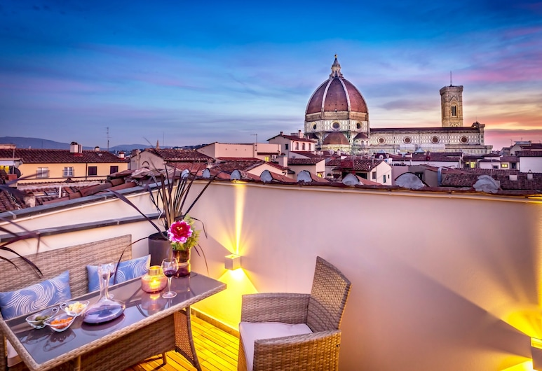 Arte' Boutique Hotel, Florence, Prestige Suite with Panoramic Terrace, Guest Room
