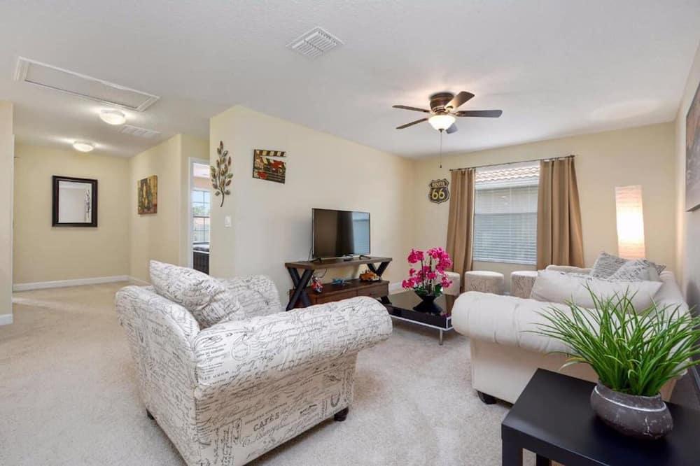 Casa, 6 habitaciones - Sala de estar