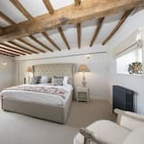 Standaard tweepersoonskamer, 1 tweepersoonsbed, uitzicht op tuin - Kamer