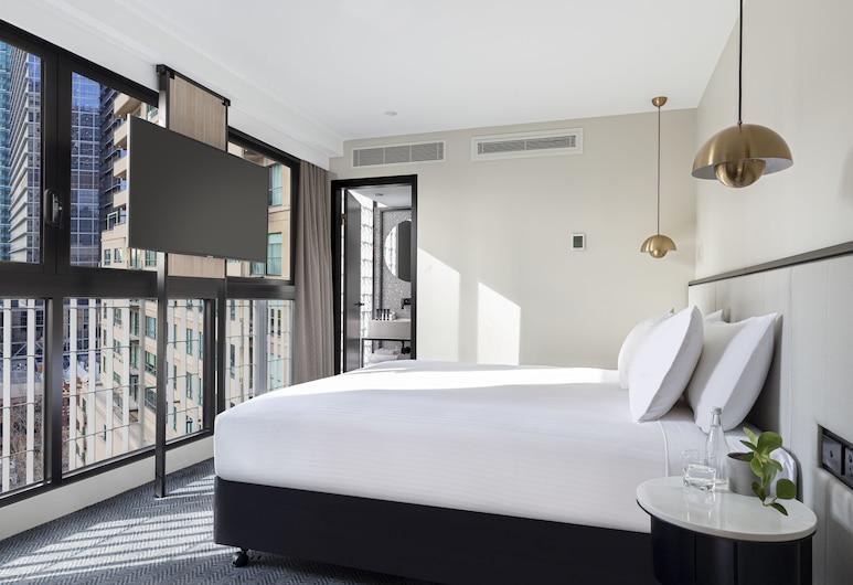 Brady Hotels Jones Lane, Melbourne, King, Guest Room