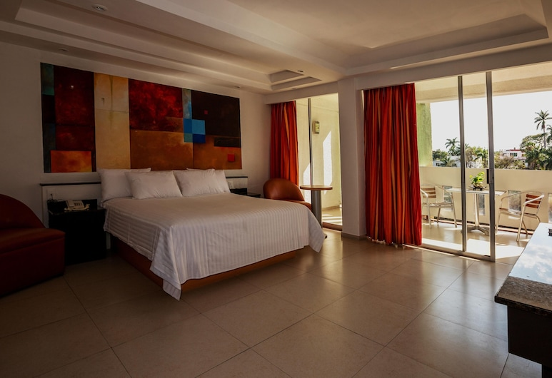 Hotel Borda Cuernavaca, Cuernavaca, Pokoj typu Comfort, dvojlůžko (180 cm), výhled do údolí, Pokoj